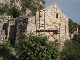 VivreMontméjean - 24 Septembre 2011 - 2 facades restaurées